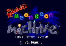 Dr.Robotnik's Mean Bean Machine