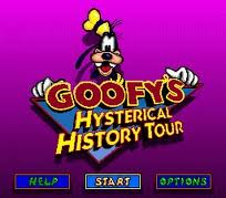 Goofys Hysterical History Tour