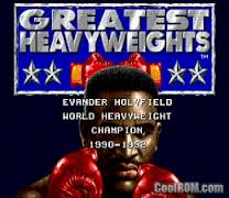 Greatest Heavy weights of the Ring
