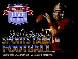 Joe Montana Sports Talk Football 2