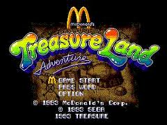 Mc Donalds Treasure Land Adventure