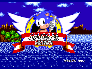 Chuckles the Maniacally Laughing Hedgehog
