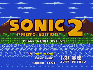 Sonic 1: Painto Edition 2