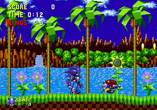 Mecha Sonic in Sonic the Hedgehog