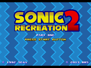 Sonic 2 Recreation