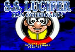 SS Lucifer - Man Overboard!