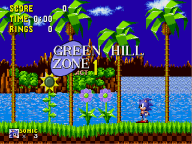 Sonic 1 - Return to the Origin v2