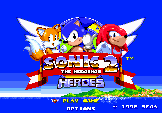 Sonic the Hedgehog 2 Heroes