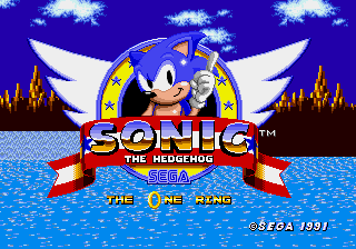 Sonic the Hedgehog :The One Ring