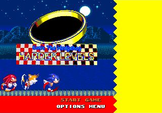 Sonic the Hedgehog Harder Levels