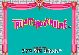 Talmits Adventure