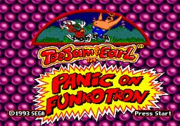 Toejam & Earl in Panic on Funkotron