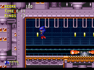 Metal Sonic in Sonic 3 & Knuckles