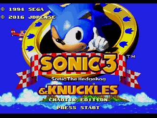 Sonic 3 and Knuckles - Chaotix Edition